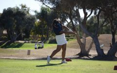 Swinging into the new season: Girls varsity golf team lowers overall score from last season