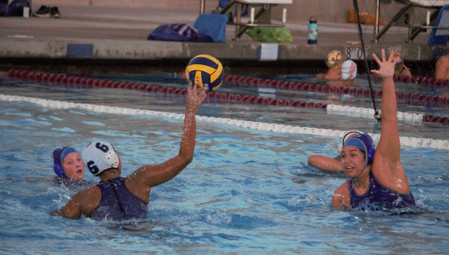 A close loss for the BVH girls' water polo team