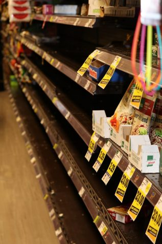 On March 13, areas within Ralphs grocery store in Chula Vista were empty. The grocery store is located across the street from Bonita Vista High.