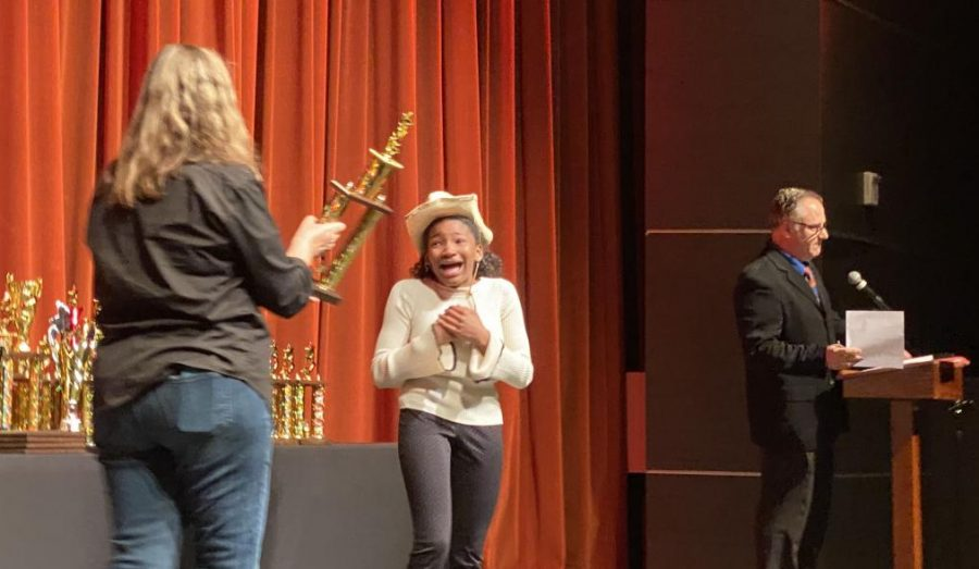 On March 7 Bonita Vista High competed at Helix High where many of their members qualified for nationals. Junior Renee Fagan, wins first place in expository speech and is one of the many that qualified for nationals.