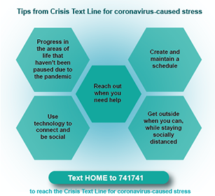 Information gathered from Crisis Text Line.