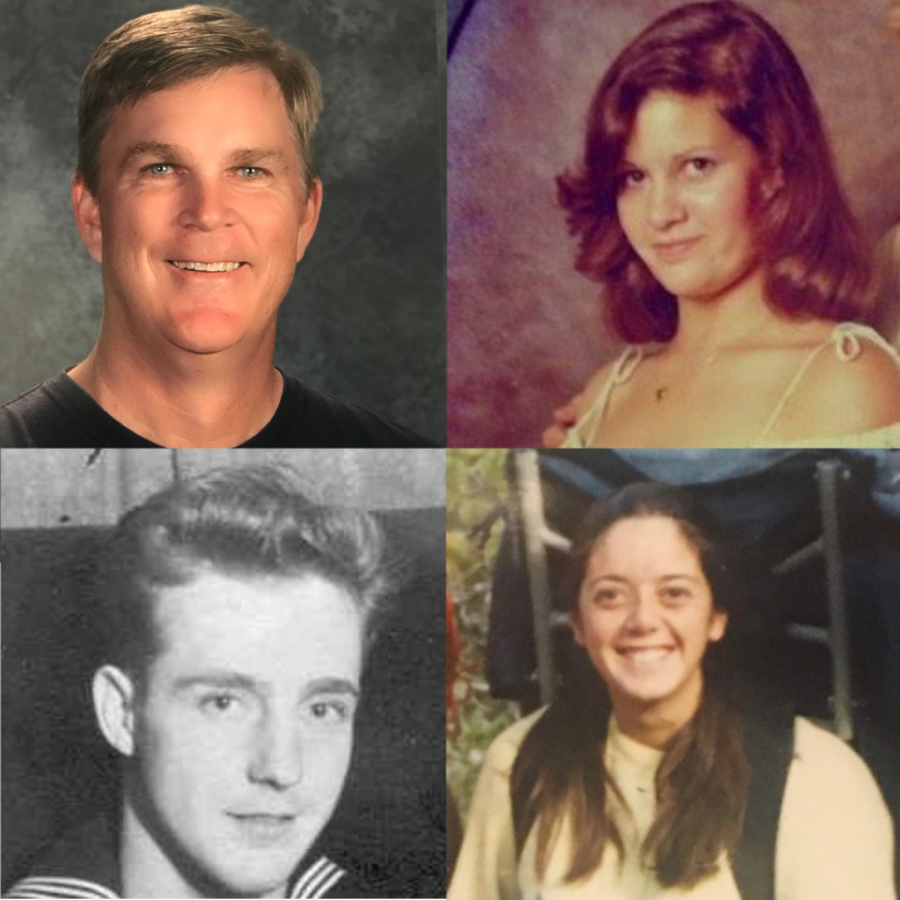 "Four BVH teachers were asked ""Do politics belong in the classroom?"" This issue, several teachers provided headshots from their youth."