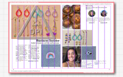 Managing Editor of the Excalibur, BVH's yearbook and senior Ysabelle Henry gives an inside look into what the yearbook staff sees when making the pages of the book. In this featured image Gianna Picart is featured with a small business she has started.