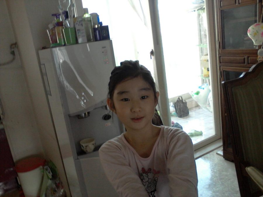 Freshmen Grace Na in her childhood apartment in 2015 when she was still living in South Korea.