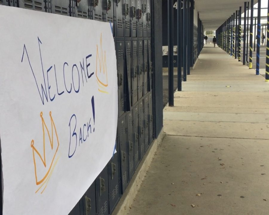 On Monday, April 12th, Bonita Vista High (BVH) welcomed students to campus for the first time in over a year for hybrid learning. The BVH Associated Student Body decorated campus for its reopening with streamers, balloons and posters. Senior Madison Geering was one student that attended this first day of hybrid learning, labeling it as an anticlimactic experience.