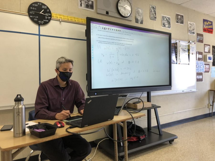 Sweetwater Union High School District mandated all teachers to be on campus starting on May 3. Teachers were trained to facilitate hybrid learning on Bonita Vista Highs campus with the use of technology.
