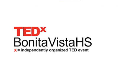 """A screenshot during the 2020-2021 annual TEDx conference, which was held virtually through YouTube on April 24, 2021. Numerous speakers gave speeches detailing their experience with the theme of """"Weathering the Storm""""."""