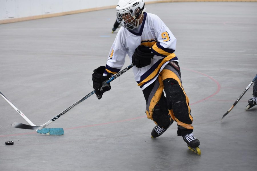 On a roll: roller hockey goes undefeated after 12-0 win