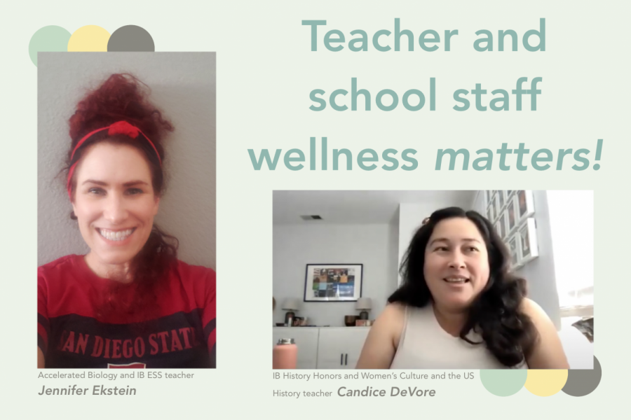 In this episode, Accelerated Biology and IB ESS teacher Jennifer Ekstein and IB History Honors and Women's Culture and the US History teacher Candice DeVore talk about the importance of highlighting the mental health and wellness of teachers and staff.