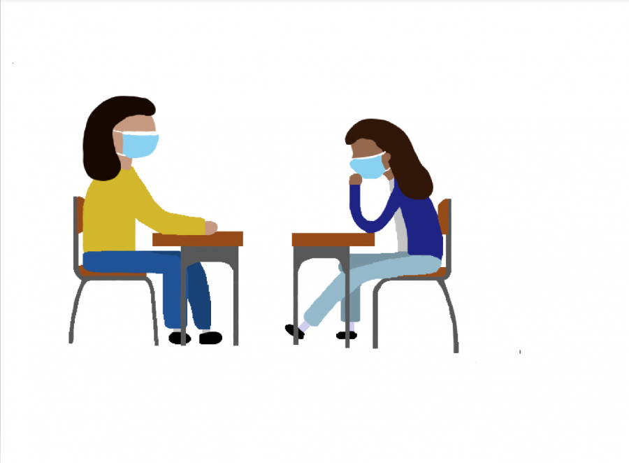 BVH students are able to get one-on-one support from a peer counselor. These sessions are confidential and give students a private outlet provided by the peer counselor.