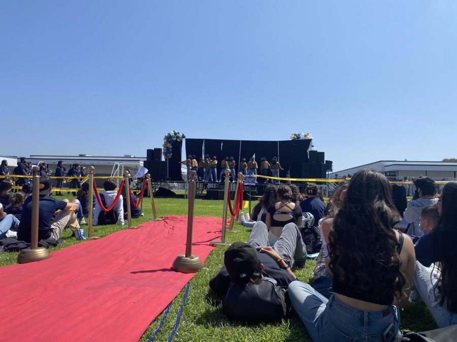 On Friday, Sept. 17, ASB held their first outdoor homecoming assembly. After a week of preparation, ASB members carry out their carefully planned itinerary.